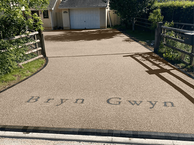 Meadow Colour Resin Driveway in Gloucestershire
